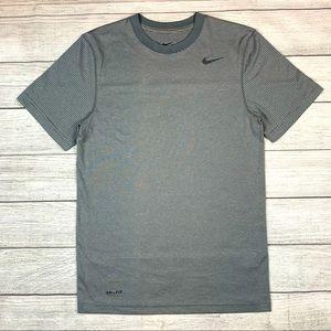 Nike Dri-Fit Touch Striped Training SS Shirt